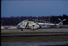 Original colour slide Mi-8 Hip '17'of Russian Air Force