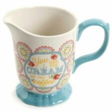 Pioneer Woman Stoneware Blossom Jubilee Vintage Floral Creamer Pitcher NEW