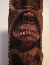 "Original Vintage Hapa-Wood HAWAII TOTEM POLE Cocojoes Long Life Tiki 6.5X2""  209"