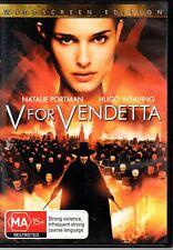 V For Vendetta (DVD, 2006)  #CB3B