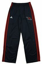 Adidas NBA Youth Atlanta Hawks 3-Stripe Athletic Track Pants, Navy