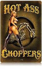 Biker Babe Pin Up Girl Metal Sign Man Cave Garage Club Shop Legend Wear LWT038