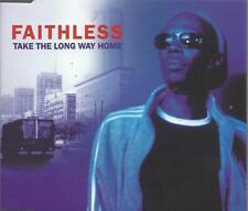 Faithless - Take The long Way Home 1998 CD single