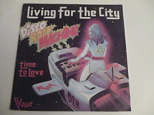45 Tours DISCO ROCK MACHINE Living for the city , time to love 1197