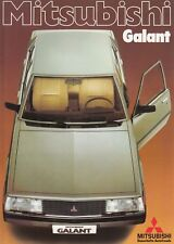 Mitsubishi Galant 1600 200 GLX GLS Nippon Classic Car prospectus brochure 76