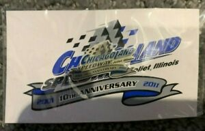 Chicagoland Speedway 10th Anniversary Pin NASCAR