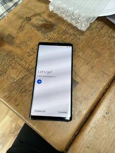 Samsung Galaxy Note9 SM-N960 - 128GB - Midnight Black (Unlocked) (Dual SIM)