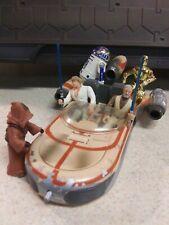 Star Wars Landspeeder Lot w/Tatooine Crew Kenner POTF 1995 Vehicle