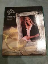 Style Brite 5 By 7 24% Full Lead Crystal Picture Frame New Usa Made
