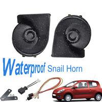 Snail Horn For Renault Twingo II 07-14 12V 110-125db Loud Waterproof Dual Tone