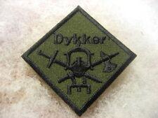 Norway Army,NAVY Badge Combat Diver sbd.cloth