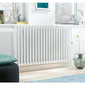 ACOVA 3-COLUMN HORIZONTAL RADIATOR 600 X 628MM WHITE