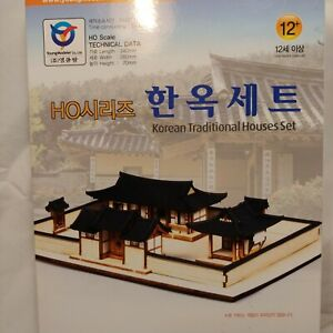 Korean Traditional House Set YOUNGMODELER Wood Model Building Kit Architecture