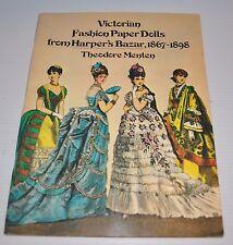 - Victorian Fashion Paper Dolls Harper's Bazar 1867-1898 Theodore Menten -