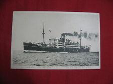 Sale! Postcard Japan Osaka Shosen Ussuri-Maru Dalian Liner Ship Photo 1930's