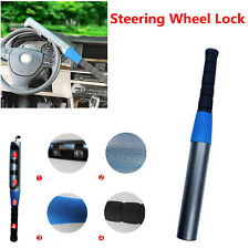 1x Durable Steel Anti-theft Baseball Bat Style Steering Wheel Lock Keys for Car