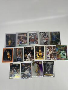 Lot of(15)Shaquille ONeal topps chrome RC fleer panini skybox fleer inserts #752