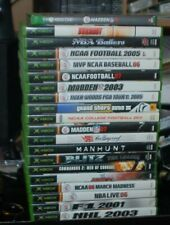 Original Xbox Lot of 20 Games Manhunt Commandos Blitz Grand Theft Auto III