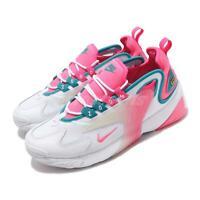 Nike Wmns Zoom 2K White Digital Pink Turq Women Running Casual Shoes CU2988-166