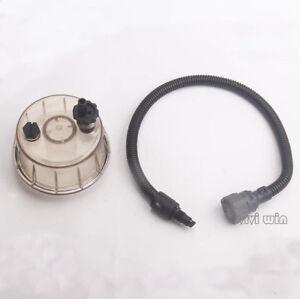 Oil Water Separator Sensor With Filter Cup For Volvo EC210B EC360B Excavator
