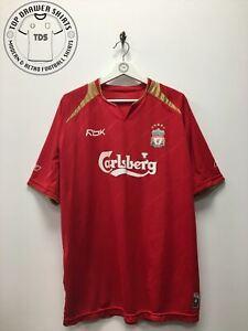 Liverpool home Football Shirt 2005/2006 Men's Large