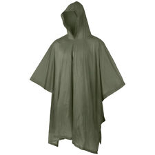 MFH Poncho Vinyl Camping Festival Outdoor Hiking Basha Cover Waterproof OD Green