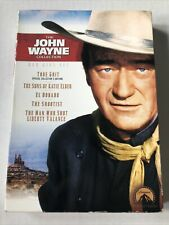 Factory sealed John Wayne DVD Gift Set El Dorado/True Grit/The Shootest & 2 more