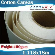 Blank Canvas/Artists Canvas/Cotton Canvas/Printable Canvas Rolls 1.118x18m