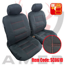 New Pair Canvas Seat cover For Holden Commodore Sedan 2013-2017 Free Shipping AU