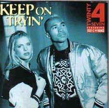 Twenty 4 Seven-Keep On Tryin cd single eurodance holland