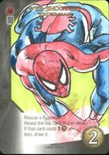 2015 Marvel 3-D Legendary Sketches #12 Spider-Man