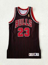 100% Authentic Michael Jordan Vintage Champion 96 97 Bulls Pro Cut Game Jersey
