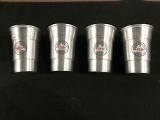Coors Light 22 Ounce Stadium Aluminum Beer Cup with Logo - Lot of 4 Brand New