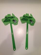 Olympics Sydney 2000 Closing Ceremony Memorabilia Two Green Fly Swatters
