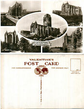 1960's MULTI VIEWS OF LIVERPOOL CATHEDRAL MERSEYSIDE LANCASHIRE RP POSTCARD