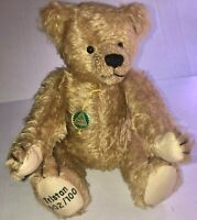 EXCLUSIVE #2 Tristan HERMANN-Co 2004 Golden Mohair Teddy Bear German L/E NEW COA