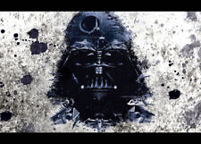 Star Wars Darth Vader Bild auf Leinwand Bilder Wandbilder Kunstdruck D0382