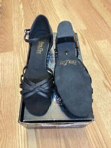"""Very Fine Ladies Women Ballroom Dance Shoes 801 802 803 with 1.5"""" Heel"""