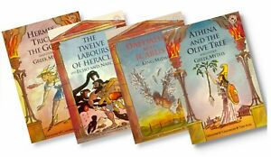 Ancient Greek Myths Collection [4 book set] (Paperback)
