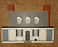 Vintage Virginia Appomattox Manor House Wood Model VA Civil War Site Petersburg