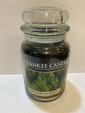 New Yankee Candle BALSAM FOREST 22 oz. Large JAR RETIRED HTF HOLIDAY 1256551