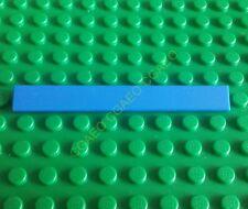 1 x  Lego  4162 Tile 1 x 8 Blue