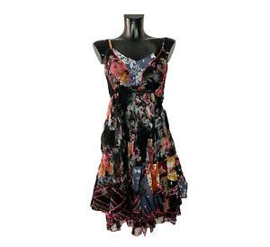 SENSATIONS N3 Made in France  Damen Sommerkleid Minikleid Trägerkleid Gr. 34-40