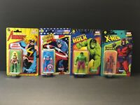 Hasbro Kenner Marvel Legends Retro 3.75 Avengers 2021 Figure Lot of 4 Figures