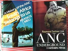 ANC UNDERGROUND IN SOUTH AFRICA Raymond Suttner/SOUTH AFRICA BELONGS TO US Meli