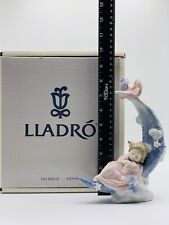 Lladro 06583 Heaven'S Lullabye In Original Box 8 1/4� Tall Mint
