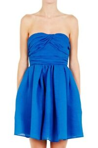 Carven Blue Cocktail Party Dress NEW! RRP $740! French Luxury Designer