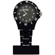 Relda Unisex Hombre Mujer Bisel Giratorio Goma Reloj de Bolsillo For Him Ella