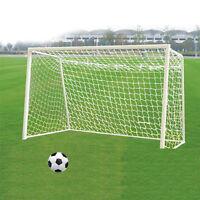Portable 6x4ft 8x6ft 12x6ft 24x8ft Football Goal Soccer Net Sport Training GD