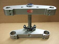 CPO Gabelbrücken Set Harley 5° gereckt FXWG 80-86 FXST 84-99 FL 65-84 Aluminium